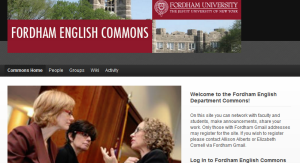 Fordham English Commons
