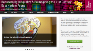 Reassessing Inequality & Reimaging the 21st Century: East Harlem Focus
