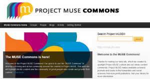 Project Muse Commons