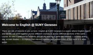 English @Geneseo