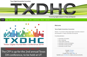 Texas Digital Humanities Consortium