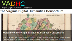 Virginia Digital Humanities Consortium