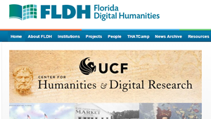 "Florida Digital Humanities – a platform ""for studying and discussing digital tools, methods, and pedagogies…"""